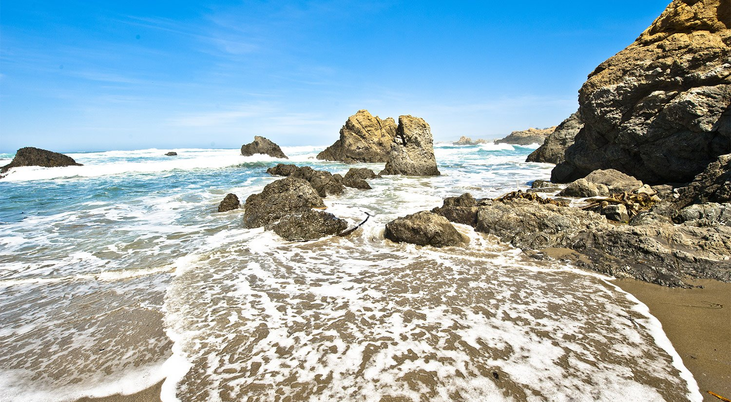 Explore The Beaches Of Mendocino and Fort Bragg