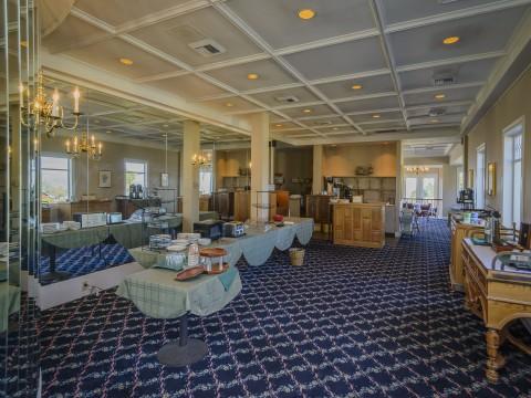 Hill House Inn - Buffet Area